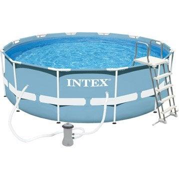 Piscine piscine hors sol gonflable tubulaire leroy for Prix piscine intex
