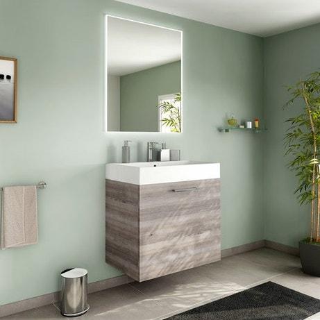 Meuble de salle de bains de 60 à 79, brun / marron, Neo line