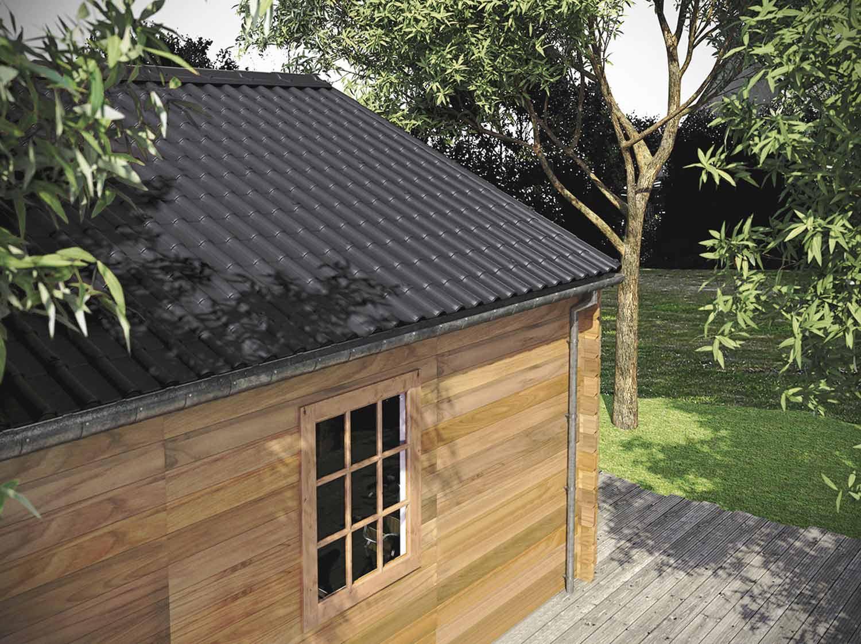 Excellent Comment Couvrir Avec Des Plaques Aspect Tuile With Couvrir Une Terrasse  Avec Des Tuiles.