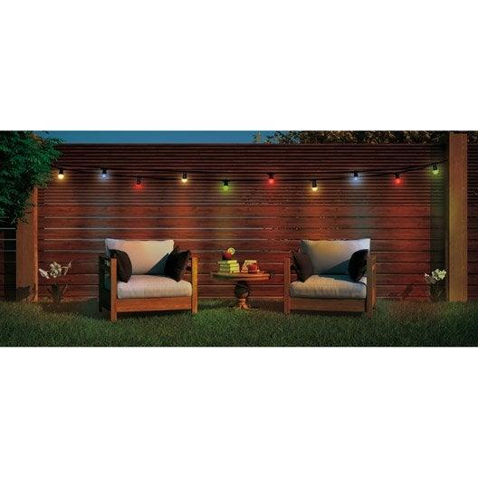 Eclairage jardin eclairage ext rieur au meilleur prix for Guirlande eclairage exterieur jardin