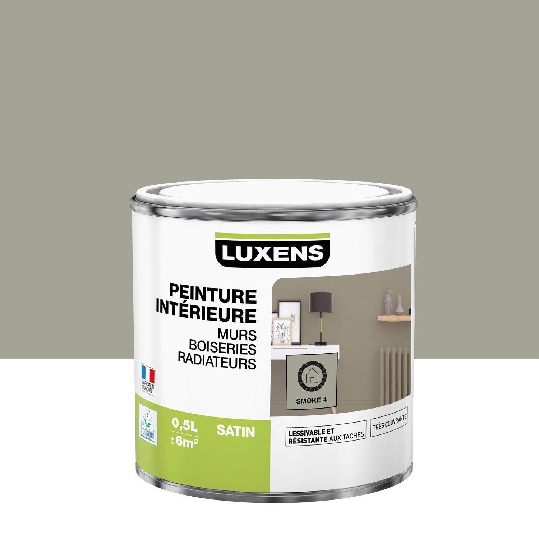 Peinture mur, boiserie, radiateur toutes pièces Multisupports LUXENS, smoke 4, s