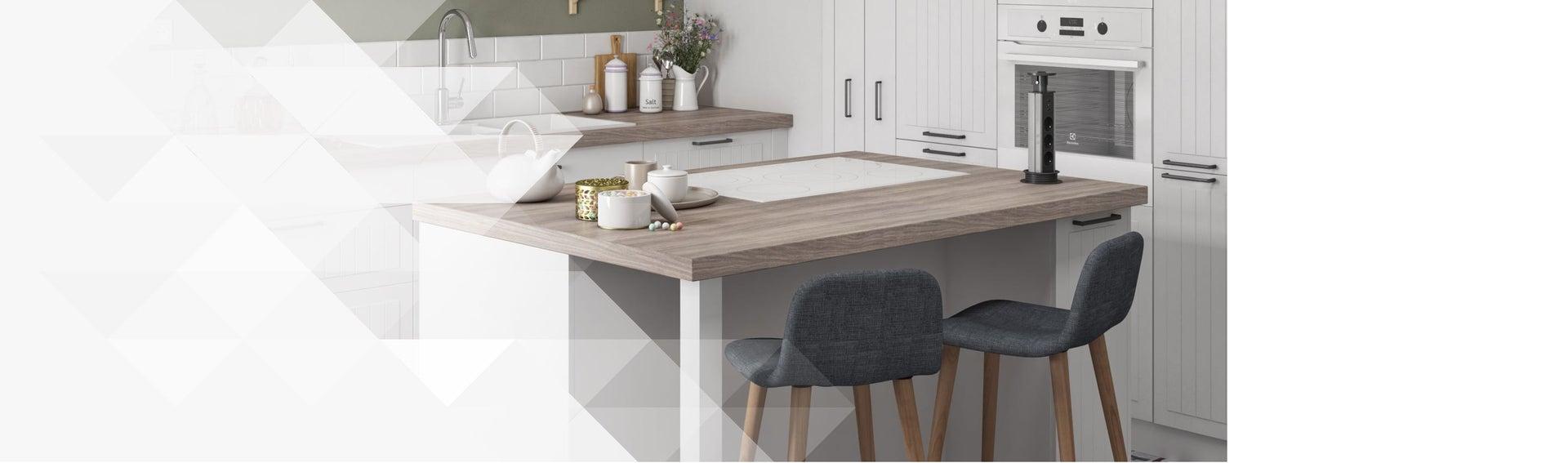 Meuble Pour Ilot Cuisine meuble de cuisine - cuisine aménagée, cuisine équipée, en