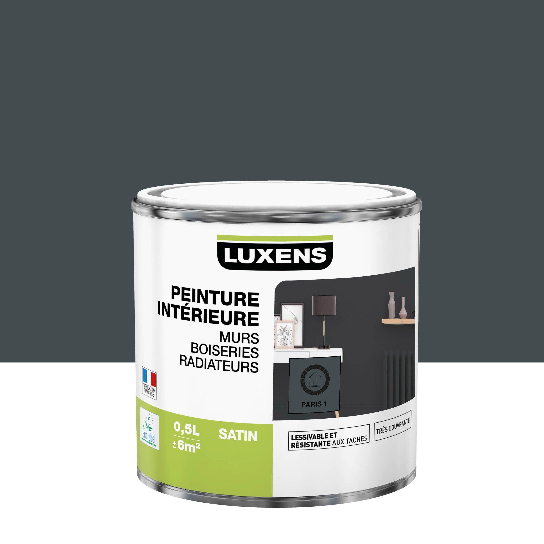 Peinture, mur, boiserie, radiateur, Multisupports LUXENS, paris 1, satiné, 0.5 l