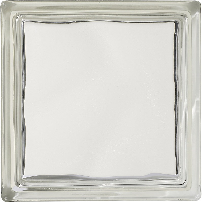 Brique De Verre Transparent Lisse Brillant