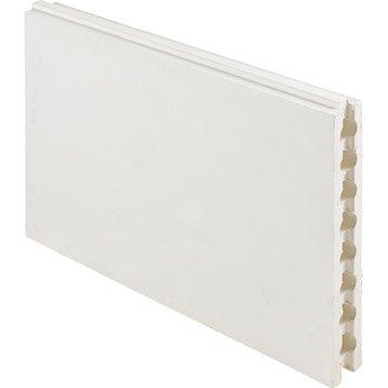 Carreau de plâtre creux L.50 x l.66 x Ep.10 cm