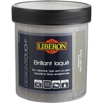 Peinture à effet Design touch laqué LIBERON, noir absolu, 0.5 l