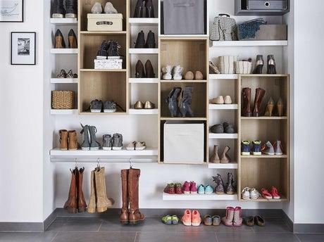 Réaliser Un Dressing Pour Les Chaussures | Leroy Merlin