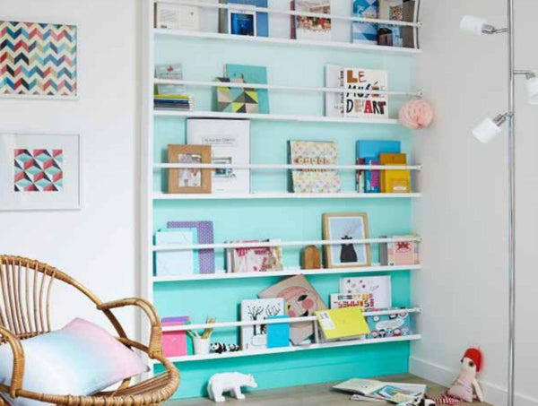 r aliser une biblioth que vitrine leroy merlin. Black Bedroom Furniture Sets. Home Design Ideas