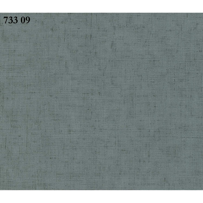 Papier Peint Vert D Eau Brillant Intisse Sonetto Leroy Merlin