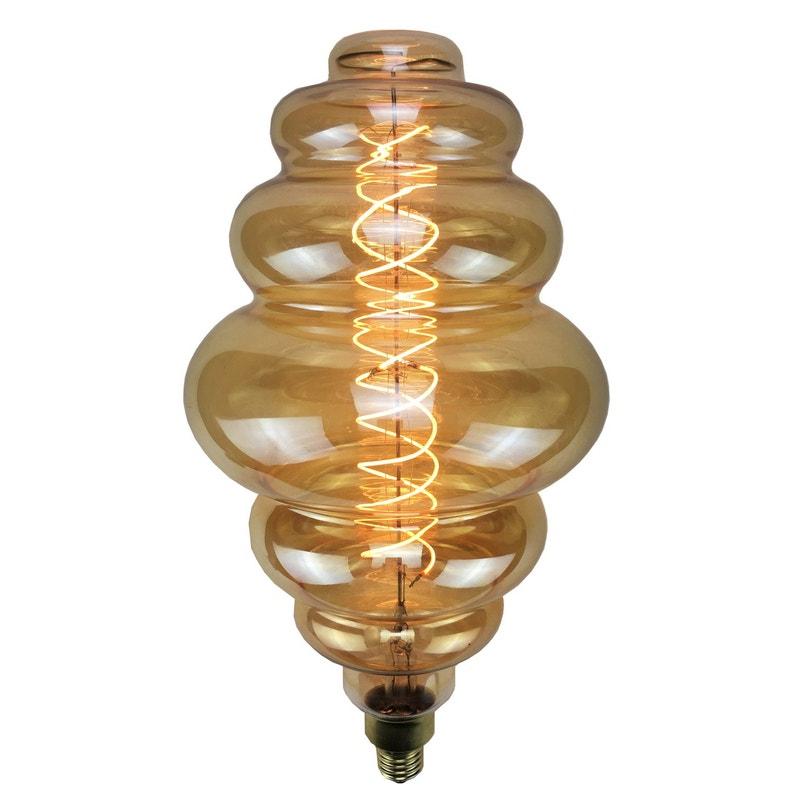 Ampoule Décorative Led Ambré E27 208cm 240lm 35w Blanc Chaud Sampa Helios