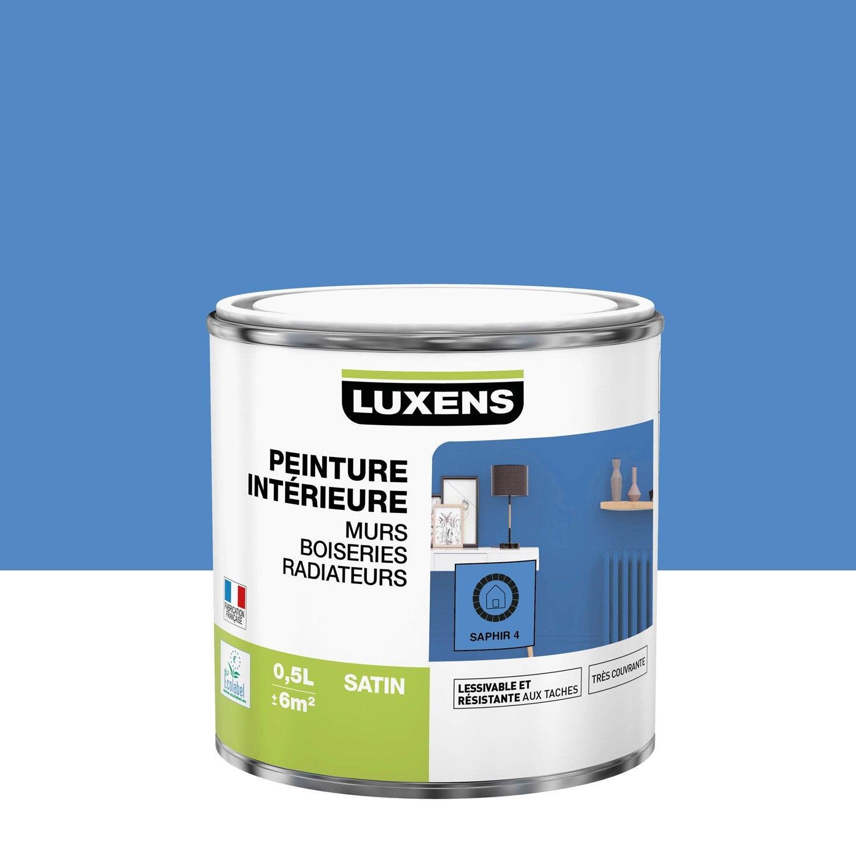 Peinture mur, boiserie, radiateur toutes pièces Multisupports LUXENS, saphir 4,