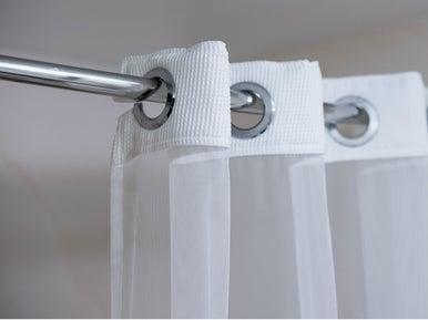 Comment choisir sa barre et ses anneaux pour rideau de douche leroy merlin - Barre pour rideau de douche ...