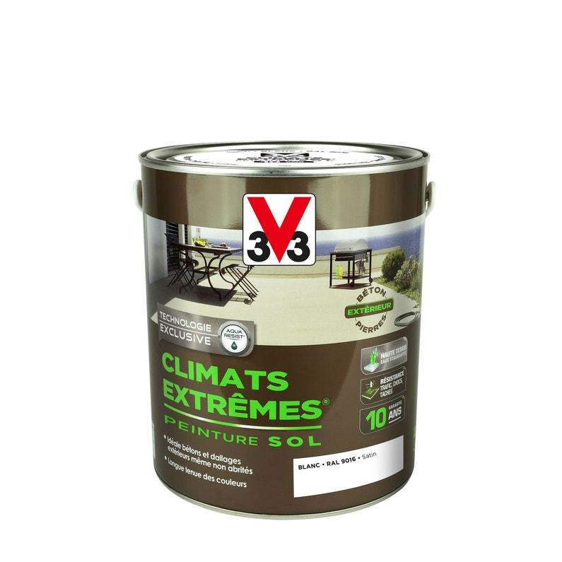 Peinture Sol Extérieur Climats Extrêmes V33 Blanc 25 L