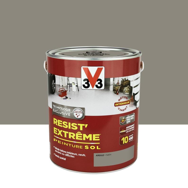 Peinture Sol Extérieur Résist Extrême V33 Gris Schiste 25 L