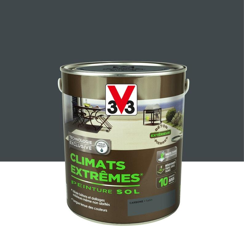 Peinture Sol Extérieur Climats Extrêmes V33 Gris Carbone 25 L