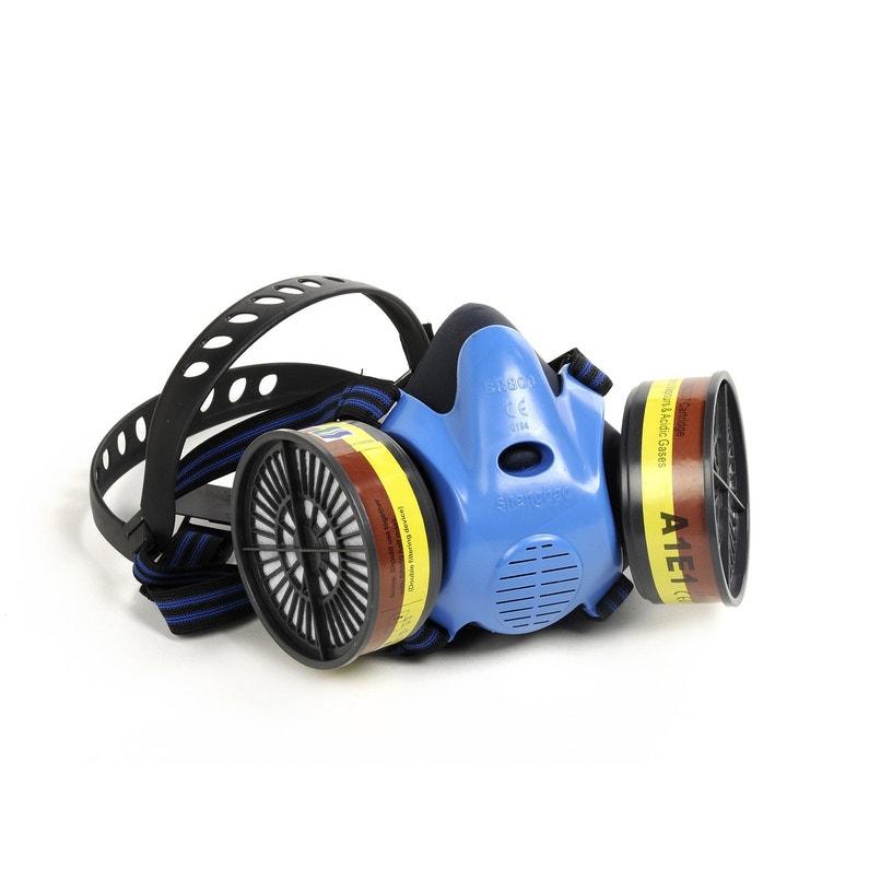 525cb1f9c5d585 Masque respiratoire avec 2 filtres MICHELIN   Leroy Merlin