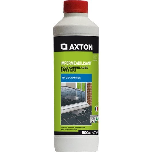 imperm abilisant hydrofuge tous supports axton 500ml leroy merlin. Black Bedroom Furniture Sets. Home Design Ideas