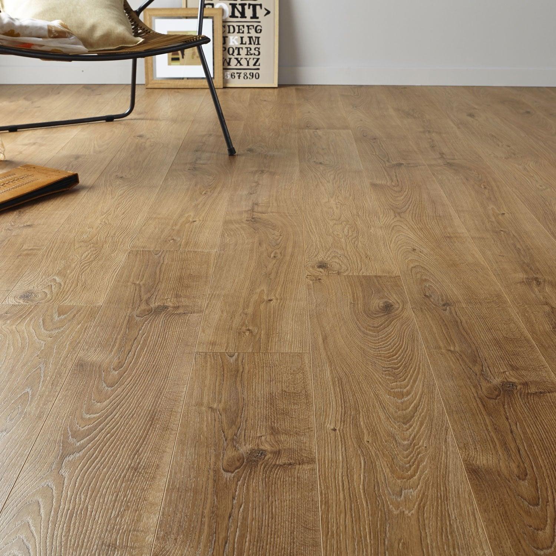 sol stratifi ch ne blond mm prestige 10 leroy merlin. Black Bedroom Furniture Sets. Home Design Ideas