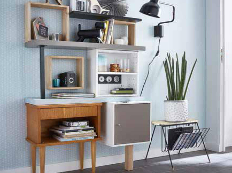 cr er une composition de meubles. Black Bedroom Furniture Sets. Home Design Ideas