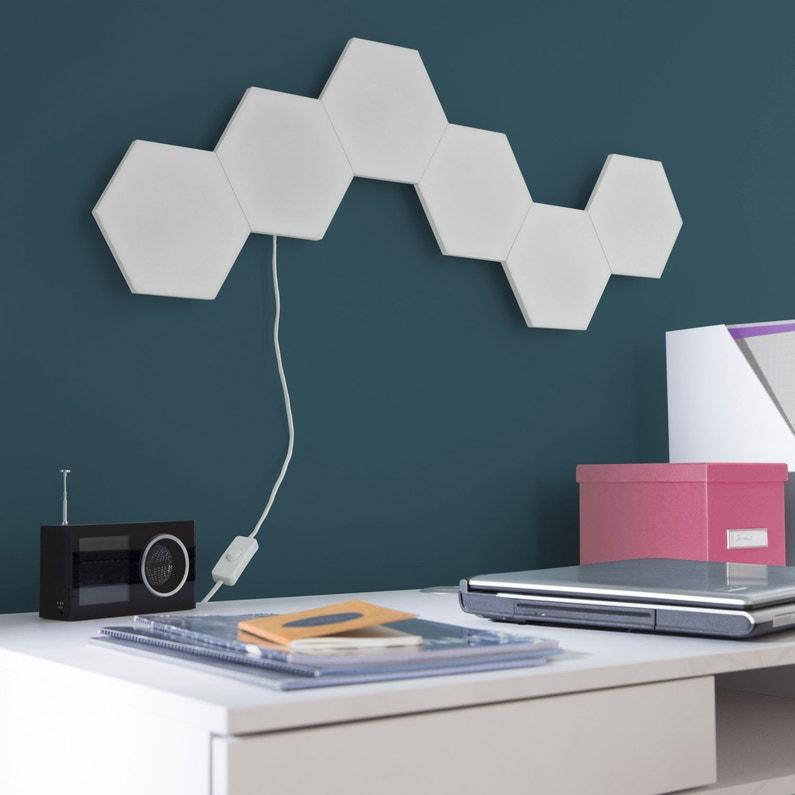 extension panneau led décoratif led intégrée puzzle 1 x