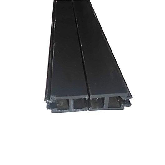 rehausse de profil porteur gris ral 7016 l 3 m leroy merlin. Black Bedroom Furniture Sets. Home Design Ideas