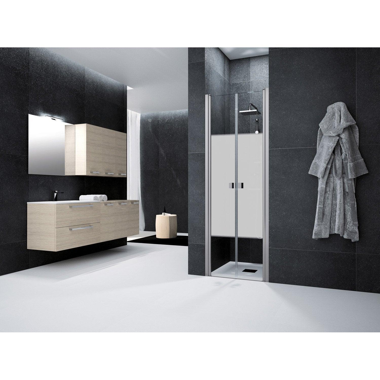 porte de douche battante 70 cm s rigraphi neo leroy. Black Bedroom Furniture Sets. Home Design Ideas