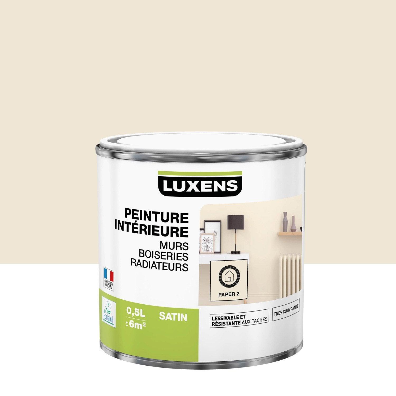 Peinture mur, boiserie, radiateur toutes pièces Multisupports LUXENS, paper 2, s