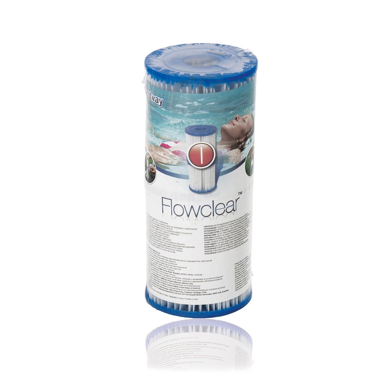 Cartouche filtrante type1 pour piscine bestway leroy merlin for Cartouche pour piscine