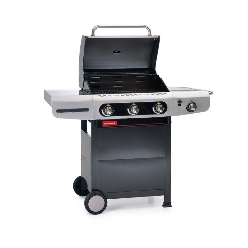 Barbecue Au Gaz Barbecook Siesta 310 Creme Leroy Merlin