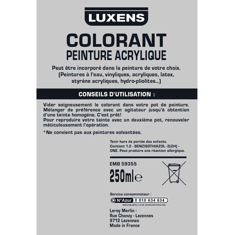 Colorant Special Peinture Acrylique Luxens 250 Ml Vert Provence