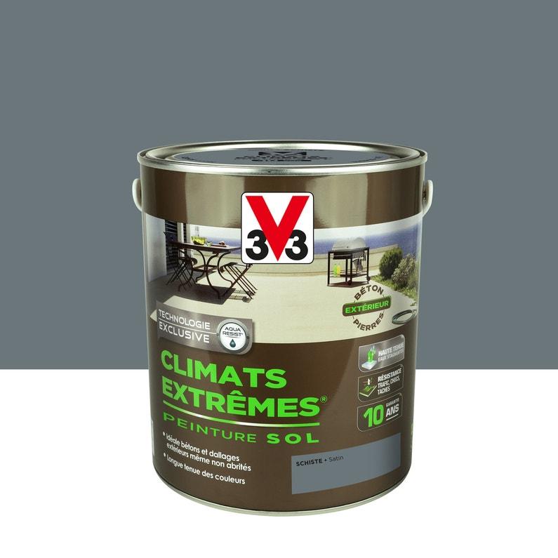 Peinture Sol Extérieur Climats Extrêmes V33 Gris Schiste 25l
