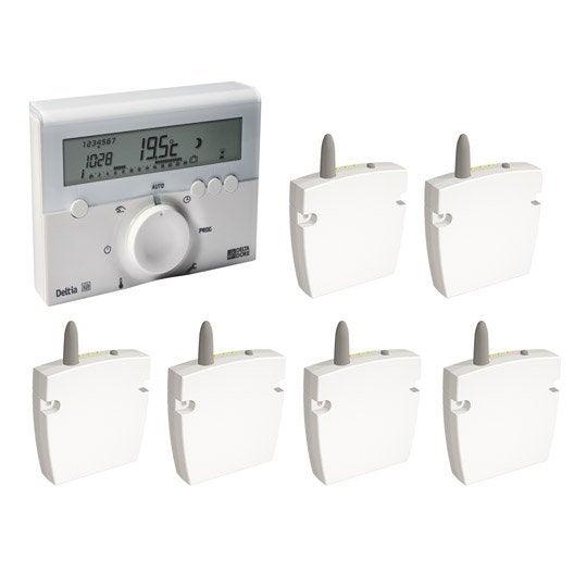programmateur radiateur électrique sans fil delta dore deltia 8.36