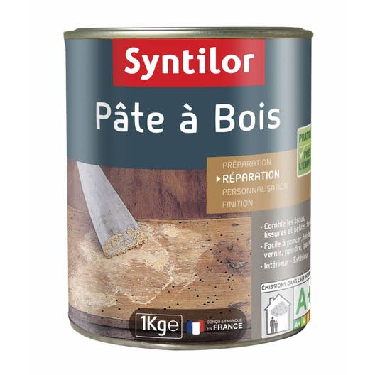 pte bois syntilor chne clair 1000 g