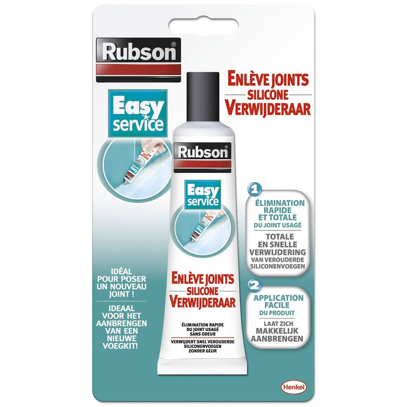 Joint Silicone En Rouleau tube enlève-joint pour mastic rubson easy 80 ml | leroy merlin