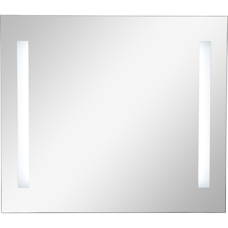 Miroir lumineux eclairage intégré, l.80 x H.70 cm, SENSEA Ayo ...