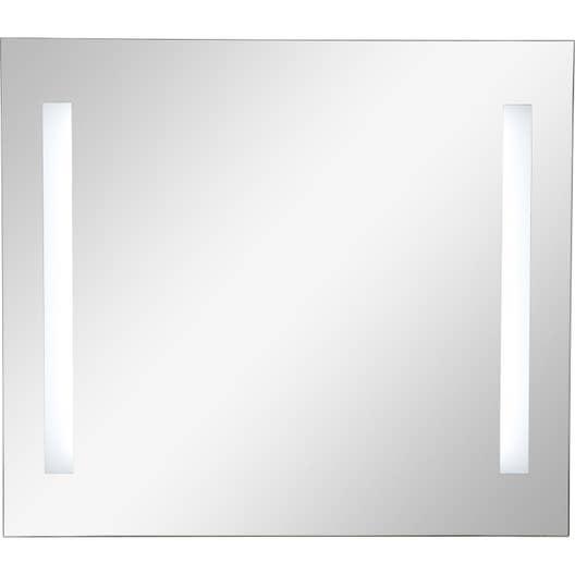 Miroir Lumineux Eclairage Int Gr L 80 X H 70 Cm Sensea Ayo