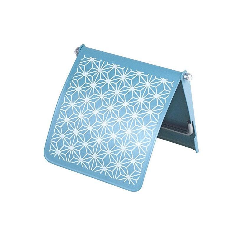 Dérouleur à papier WC Lyrica boheme, bleu