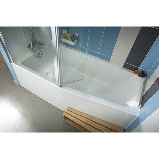 Baignoire porte baignoire douche salle de bains for Jacob delafon salle de bain