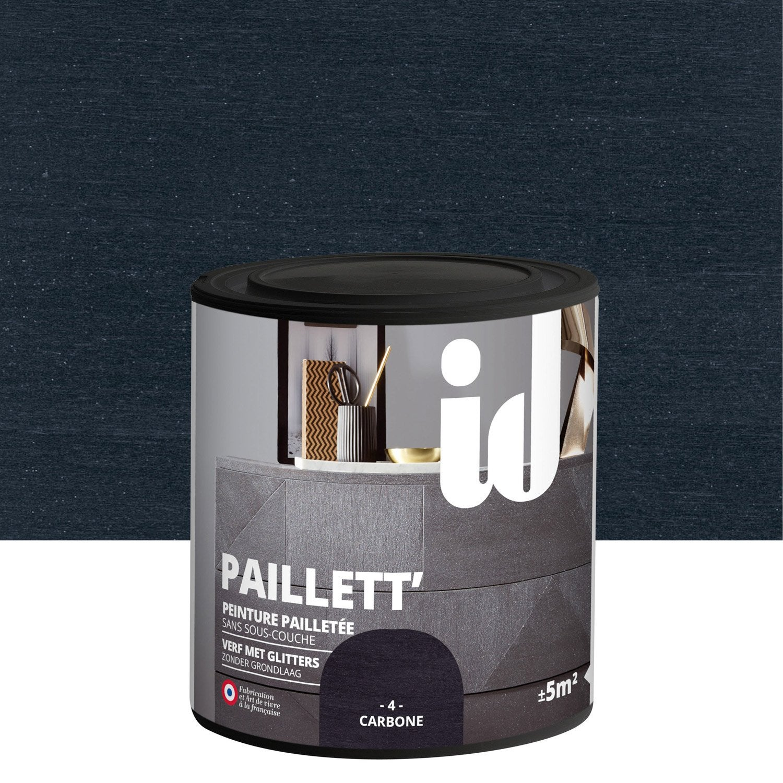 Peinture Pour Meuble, Objet Et Porte, Pailleté, ID, Paillett, Carbone 0.5