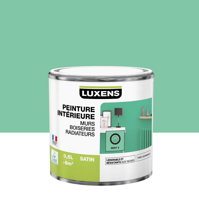 Peinture mur, boiserie, radiateur toutes pièces Multisupports LUXENS, mint 4, sa