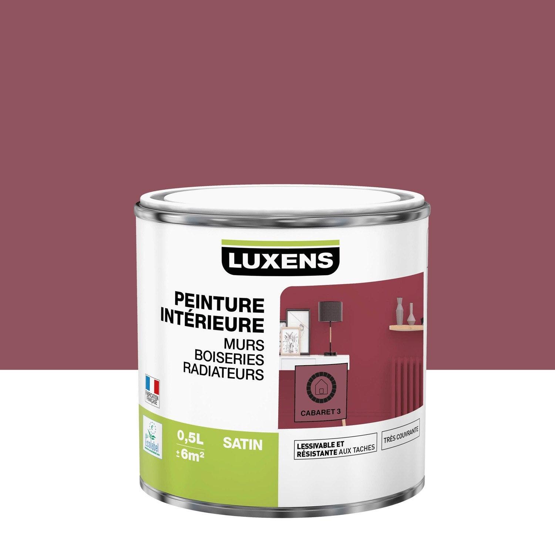 Peinture mur, boiserie, radiateur toutes pièces Multisupports LUXENS, cabaret 3,