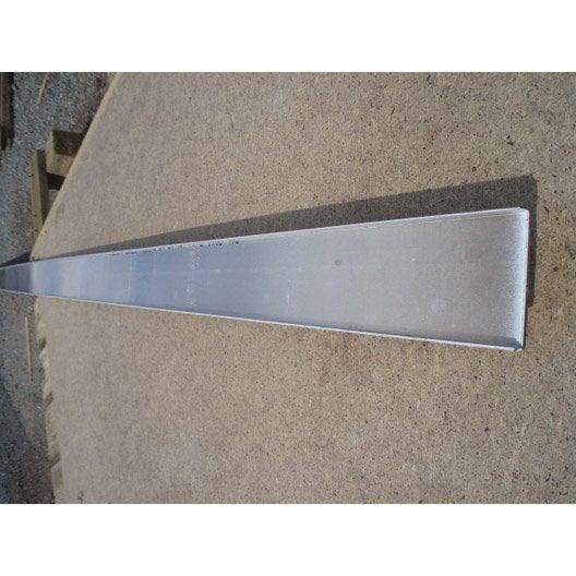 Profil finition block lock blanc 3 m leroy merlin - Profile pour brique de verre ...