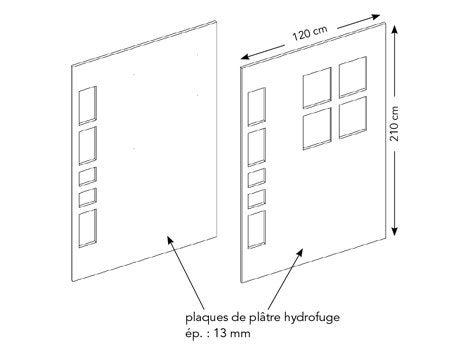 Comment monter une cloison multifonction dans la salle de bains ...