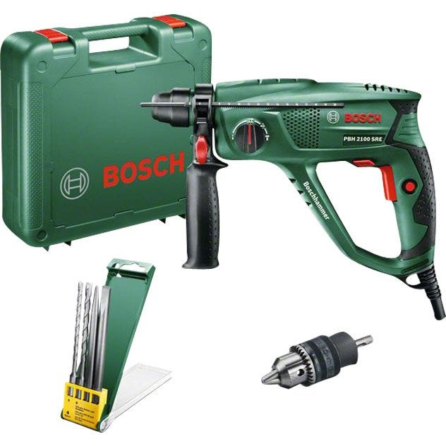 Perforateur sds plus bosch pbh2100sre 550 w leroy merlin - Dalep 2100 leroy merlin ...