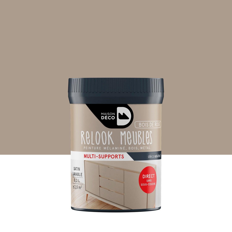 Agreable Peinture Pour Meuble, Objet Et Porte, Satiné, MAISON DECO, Bois De Rose Images