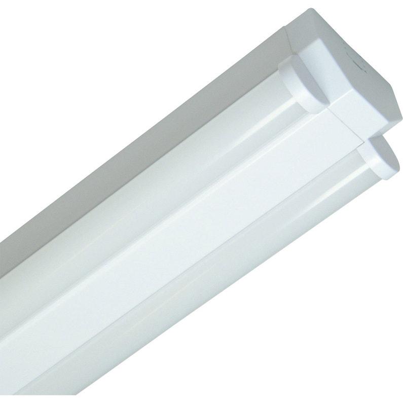 Réglette Basic Led Led 2 X 30 W Led Intégrée Blanc Froid
