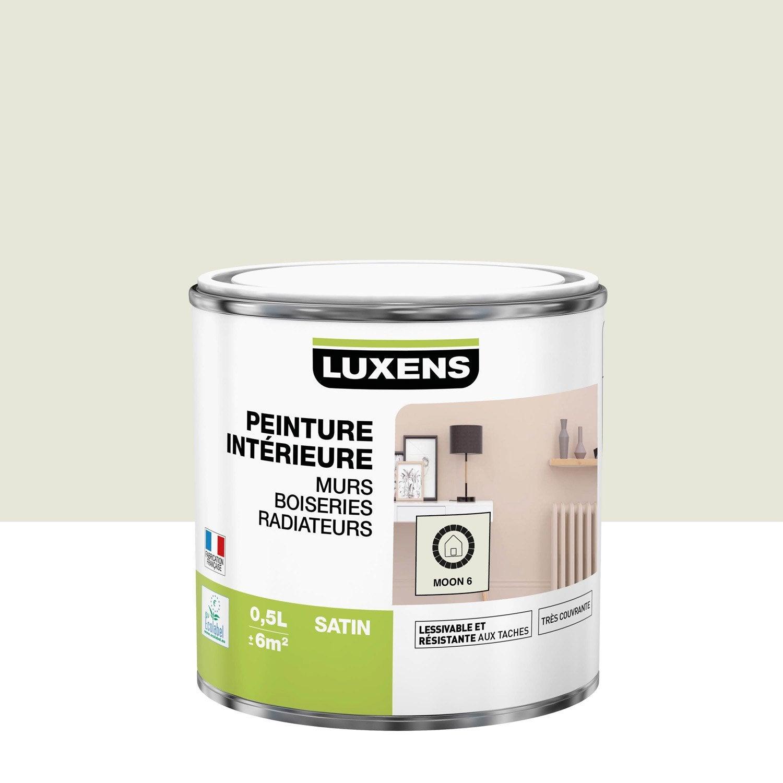 Peinture mur, boiserie, radiateur toutes pièces Multisupports LUXENS, moon 6, sa