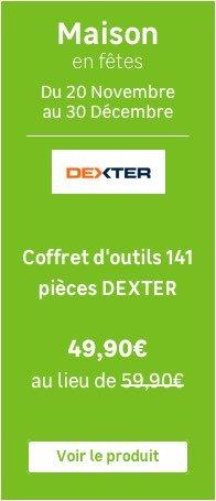 Malette A Outils De Mecanicien 130 Pieces Dexter Avis Au