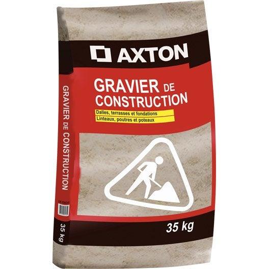 Gravier b ton 4 20 en sac 35 kg leroy merlin - Dosage beton pelle sac 35 kg ...