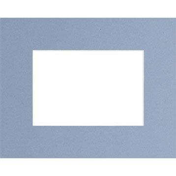 Passe-partout, 30x40 cm, bleu clair